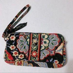 Vera Bradley Floral Wristlet Clutch